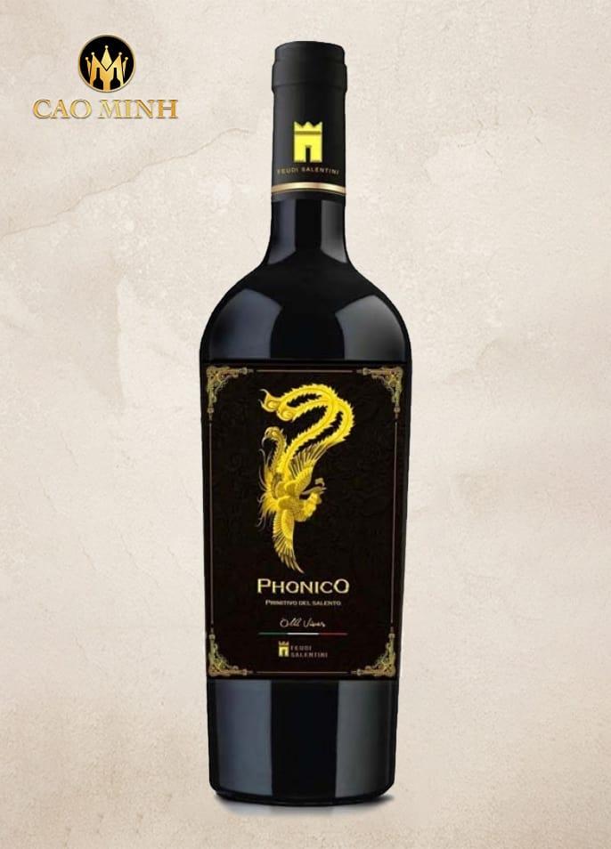 Rượu vang Ý Phonico 2015 Del Salento Primitivo