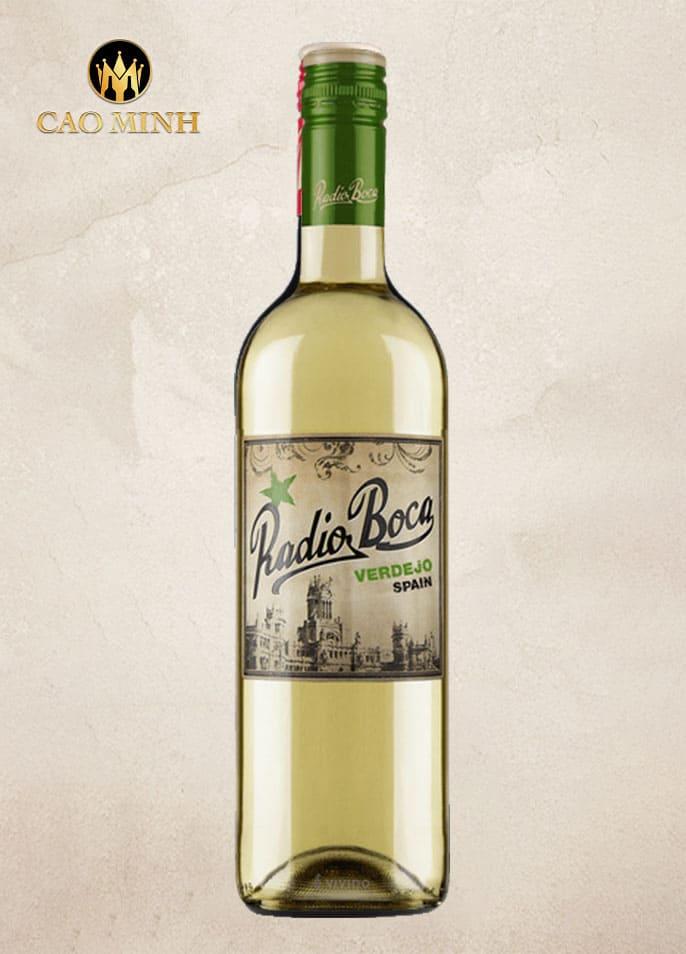 Rượu vang Tây Ban Nha Radio Boka White 750ml
