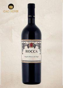 Rượu vang Ý Rocca Angelo Negroamaro