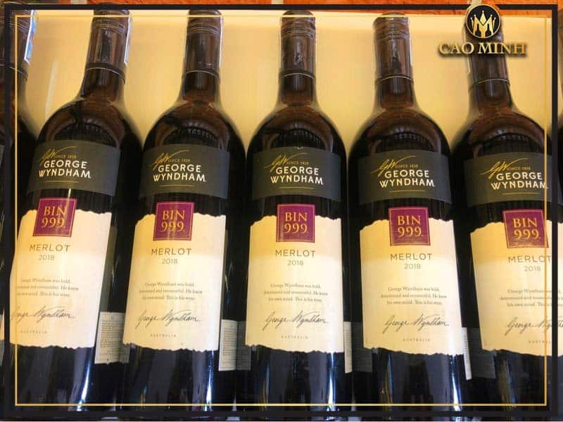 Rượu vang Bin 999 giá bao nhiêu?