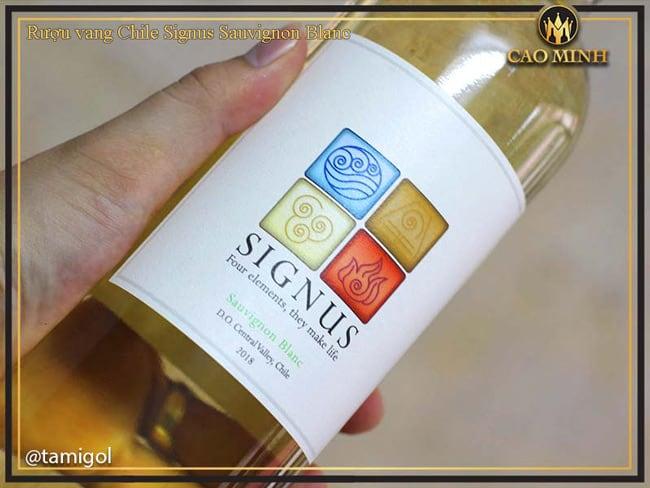 Rượu vang Chile Signus Sauvignon Blanc
