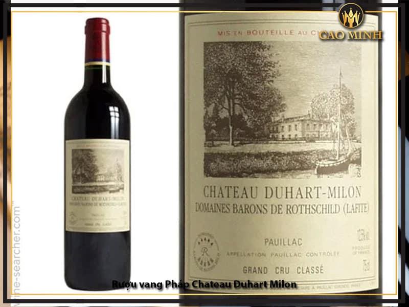 Rượu vang Pháp Chateau Duhart Milon