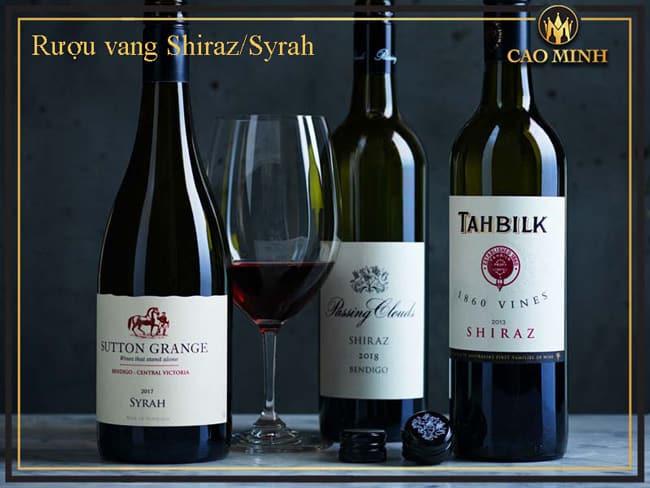 Rượu vang Shiraz/Syrah