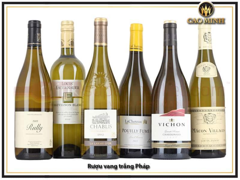 Rượu vang trắng Pháp
