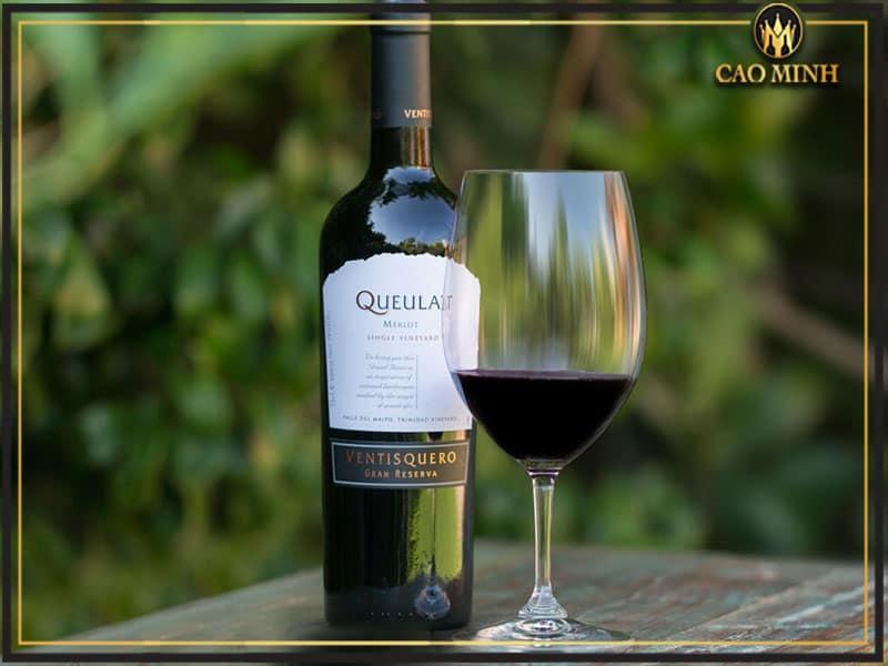 Rượu vang Queulat Reserva Cabernet Sauvignon - Vang Chile cao cấp