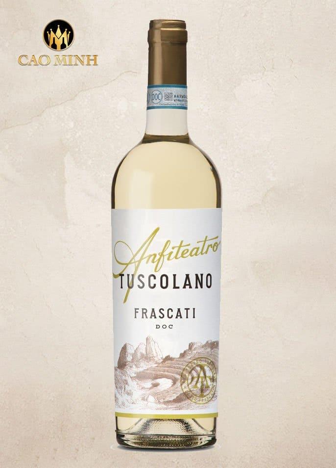 RƯỢU VANG Ý ANFITEATRO TUSCOLANO FRASCATI D.O.C