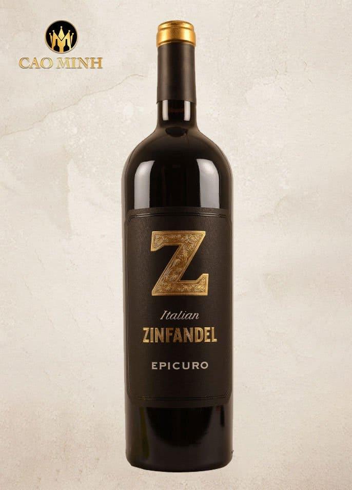 Rượu Vang Ý - Epicuro Zinfandel I.G.P Annata