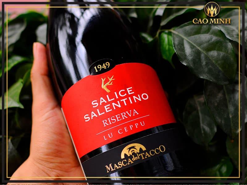 Rượu vang Ý Lu Ceppu Salice Salentino Riserva