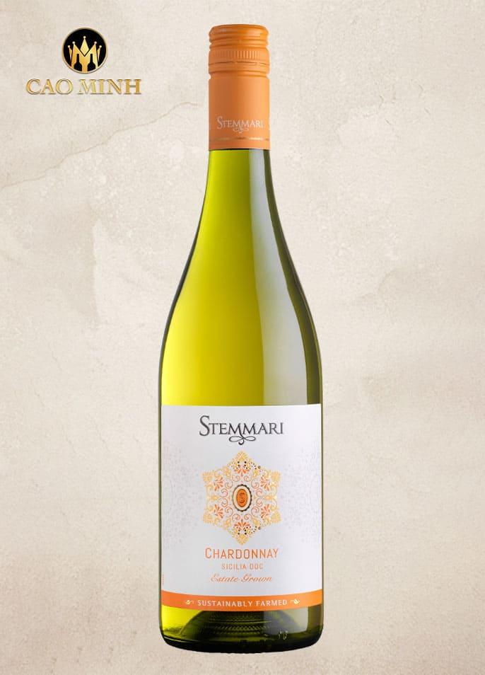 Rượu vang Ý Stemmari Chardonnay