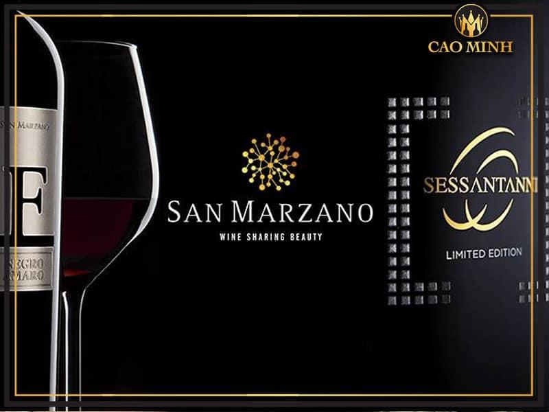 Thương hiệu rượu vang San Marzano