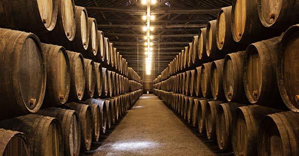 Ủ rượu vang trong các thùng gỗ sồi