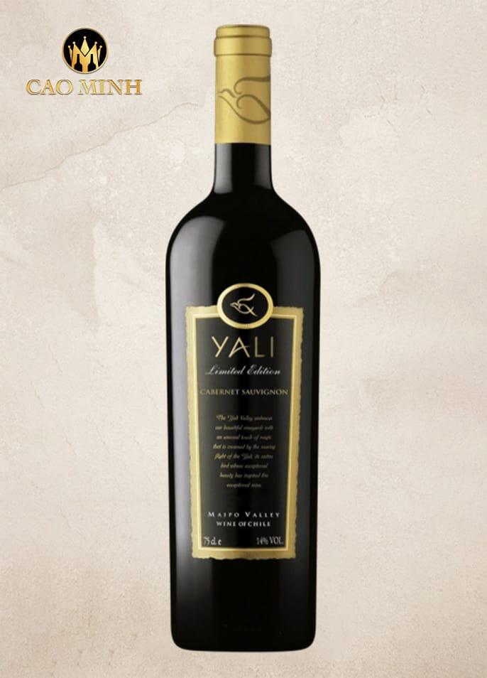 RƯỢU VANG CHILE YALI LIMITED EDITION