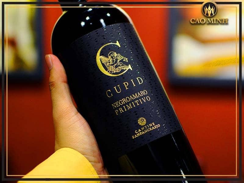 Rượu vang Ý Cantine Cupid San Pancrazio