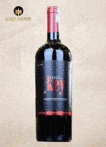 Rượu Vang Chile Key Grand Reserva Cabernet Sauvignon