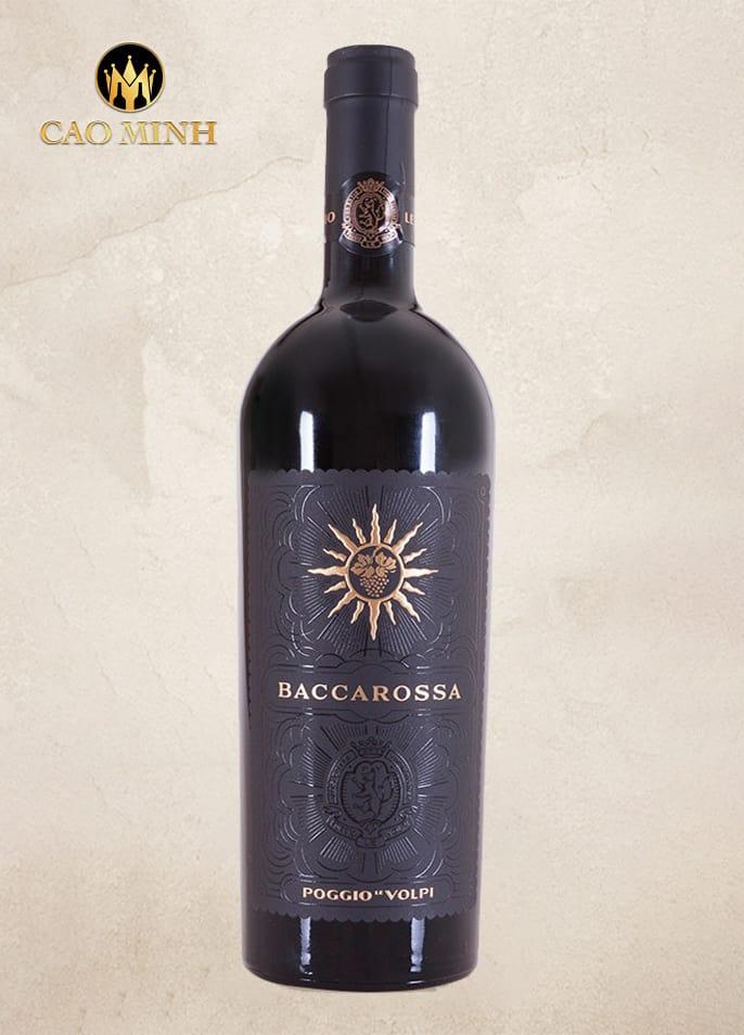 Rượu vang Ý Baccarossa
