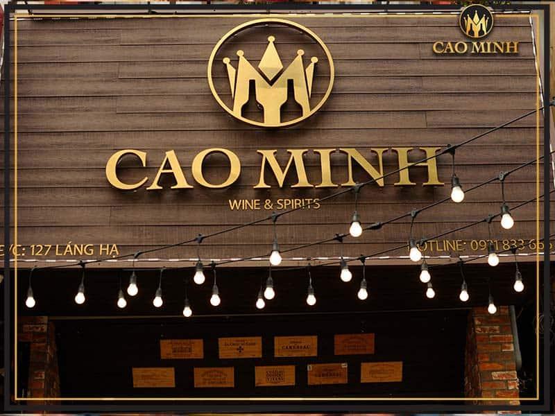 Cao Minh - Shop rượu vang nho nhập khẩu chính hãng, uy tín nhất