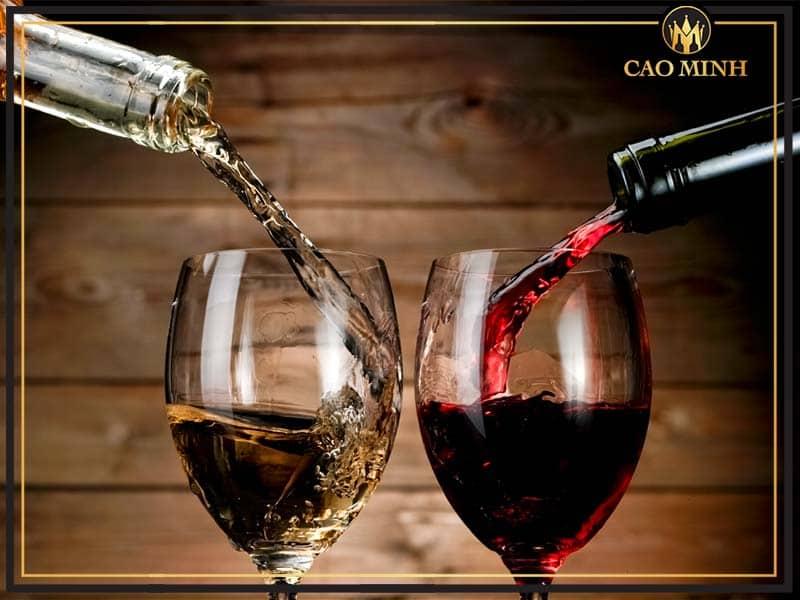 Rượu vang chát và rượu vang ngọt có nhiều điểm khác nhau