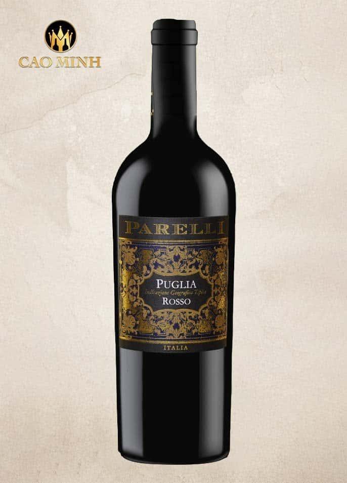 Rượu vang Ý Parelli Rosso Puglia