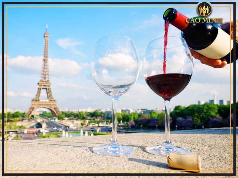Rượu vang đỏ Pháp