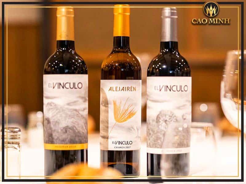 Rượu vang El Vinculo Crianza