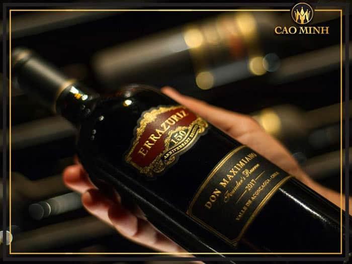 Địa chỉ mua rượu vang Errazuriz uy tín, chất lượng