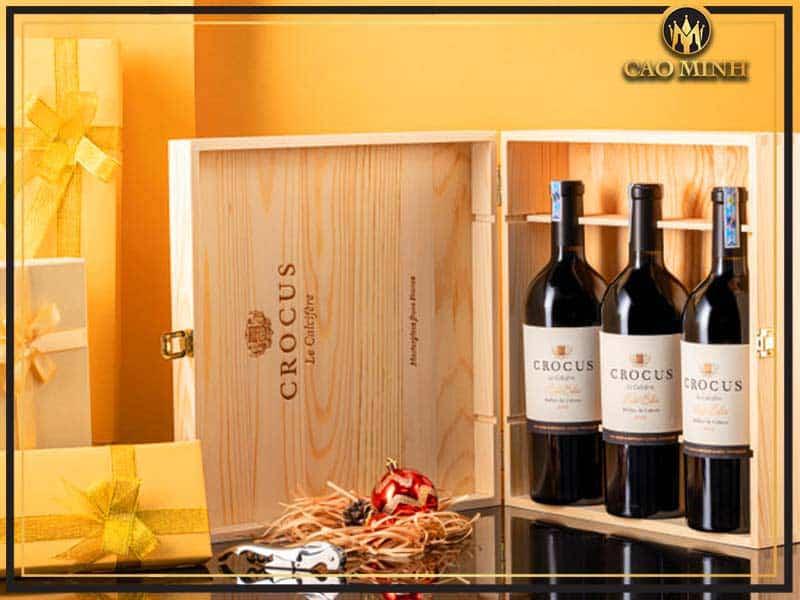 Rượu quà tặng được lựa chọn dựa trên sở thích của người nhận