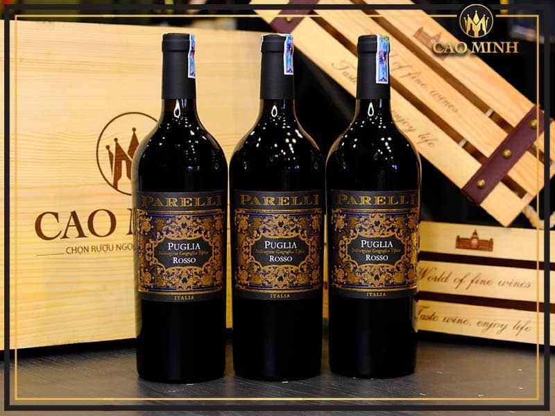 Rượu vang Ý Pirelli Rosso Puglia