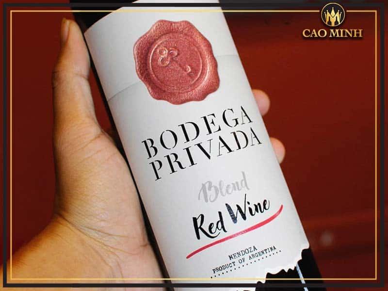 Rượu vang Bodega Privada