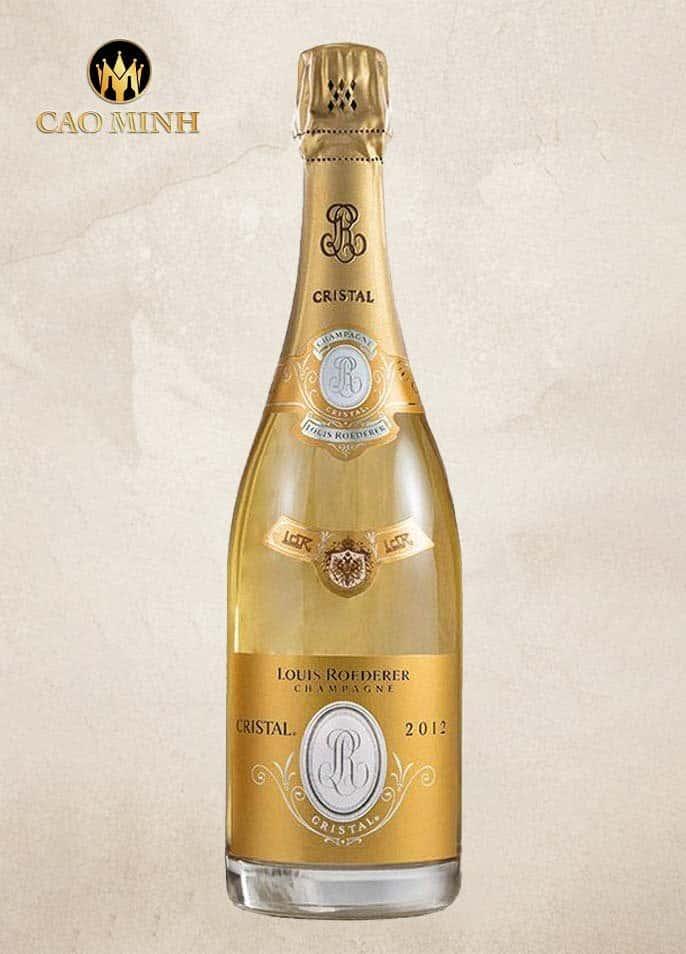 Rượu vang Pháp Champagne Louis Roederer Cristal