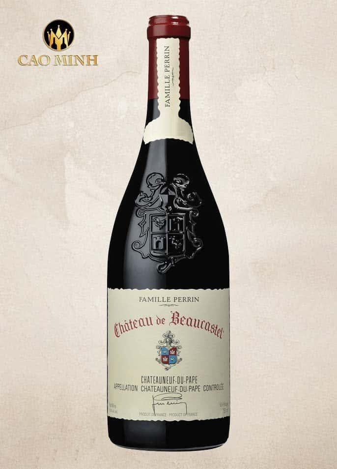 Rượu vang Pháp Chateau de Beaucastel