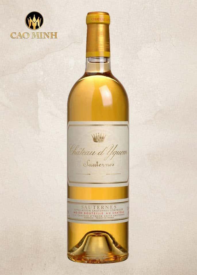 Rượu vang Pháp Chateau d'Yquem Sauternes