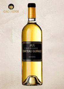 Rượu vang Pháp Sauternes Chateau Guiraud