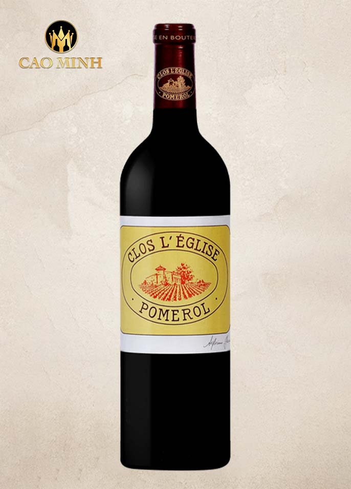 Rượu vang Pháp Clos l'Eglise