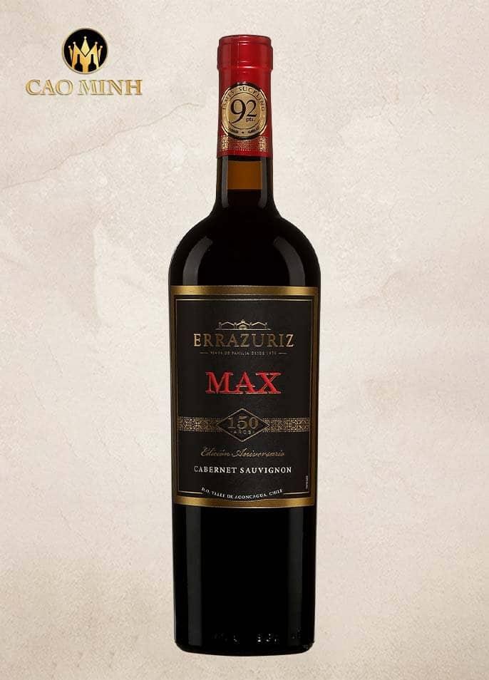Rượu vang Errazuriz Max Cabernet Sauvignon