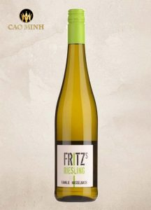 Rượu vang Đức Fritz Riesling Gunderloch