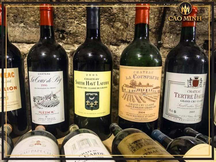 Vô cùng đa dạng các dòng rượu vang Pháp trên thị trường