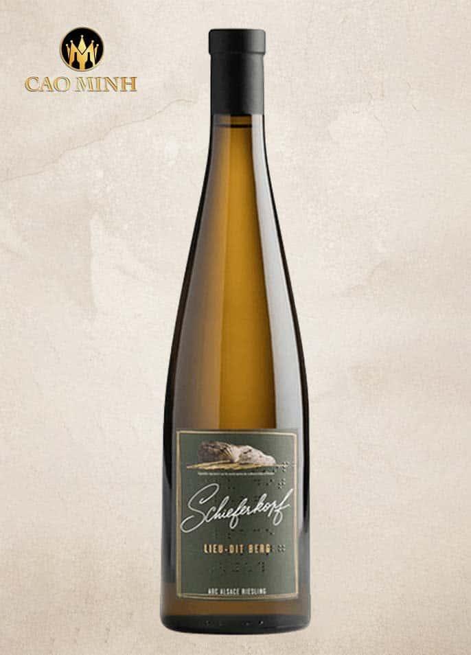 Rượu vang Pháp Lieu-dit Berg Riesling Schieferkopf