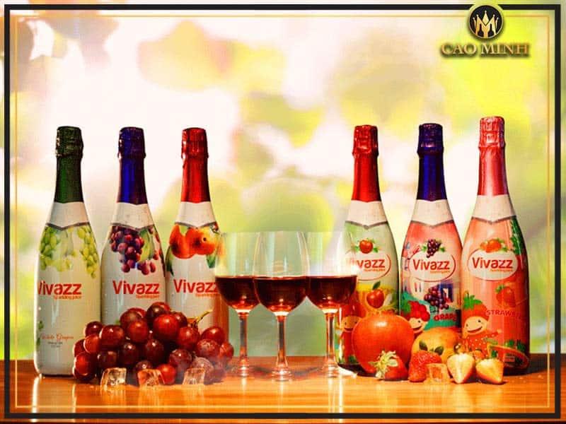 Đôi nét về rượu vang hoa quả