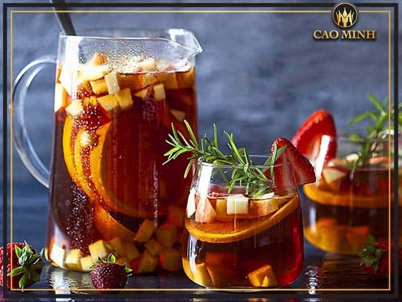 Cách làm rượu vang hoa quả