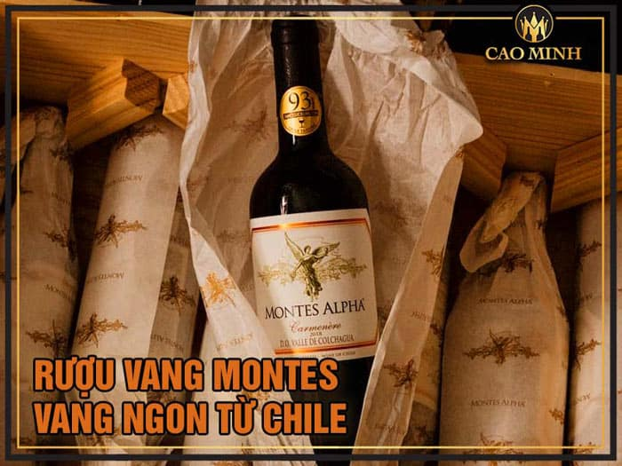 Rượu Vang Montes - Nhập khẩu Chính Hãng Chile