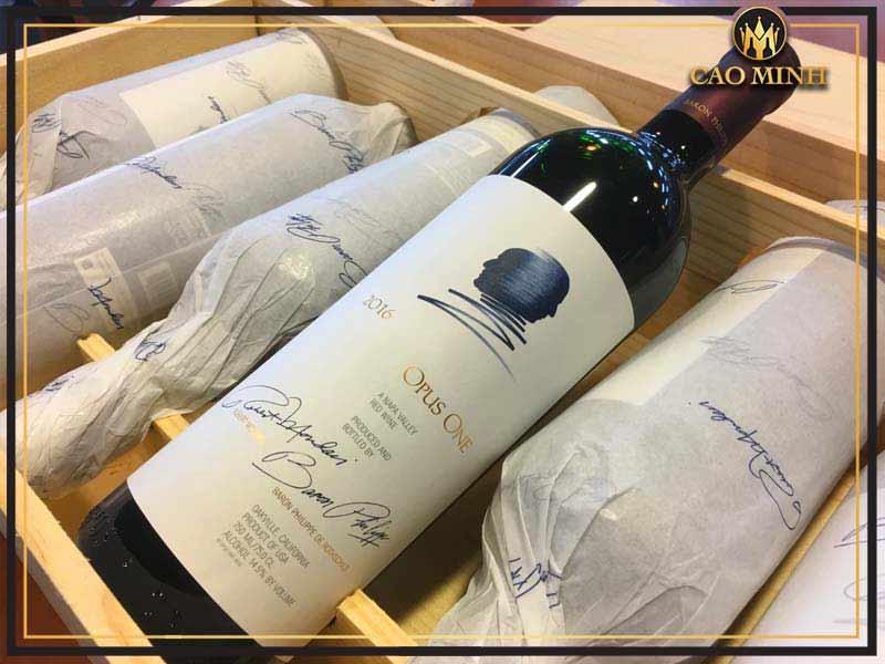 Opus One - Đẳng cấp rượu vang Mỹ
