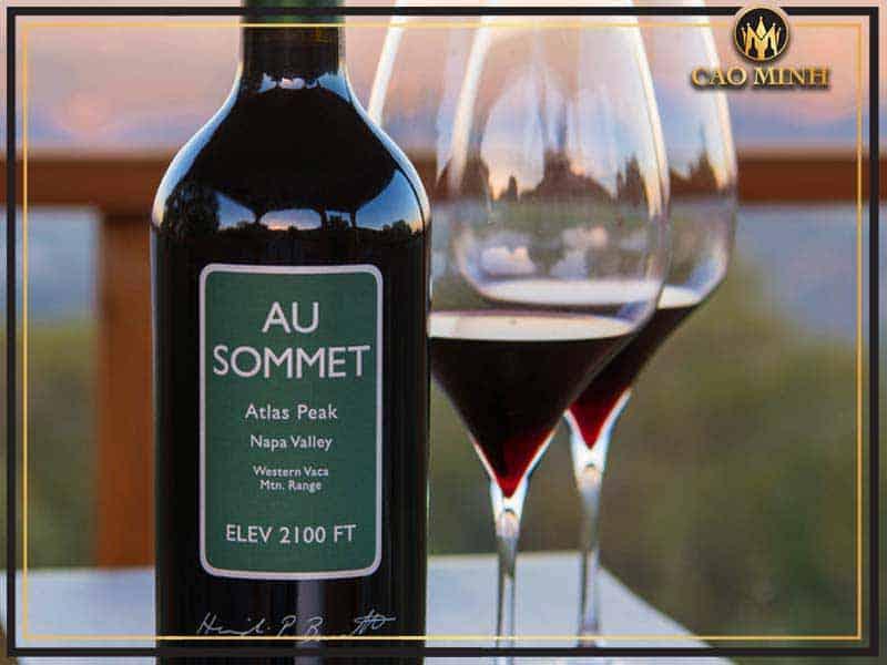 Rượu vang Au Sommet