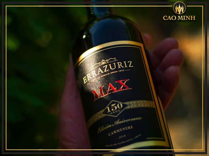 Rượu vang Errazuriz Max Reserva Carmenere