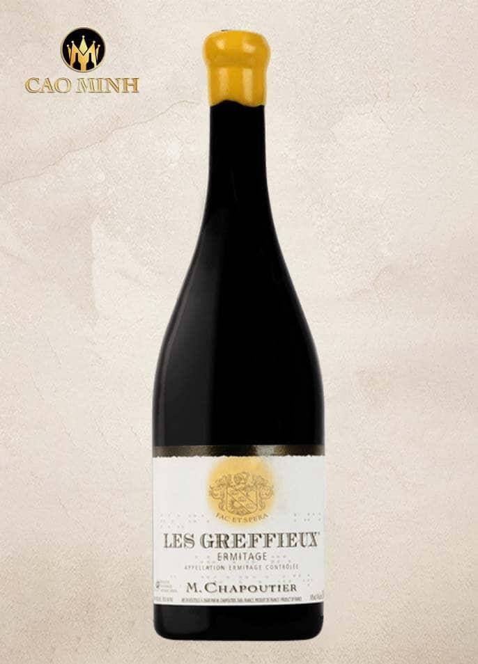Rượu vang Pháp Les Greffieux Chapoutier