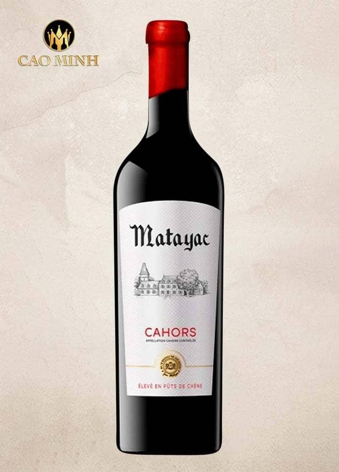 Rượu vang Pháp Matayac Cahors Malbec