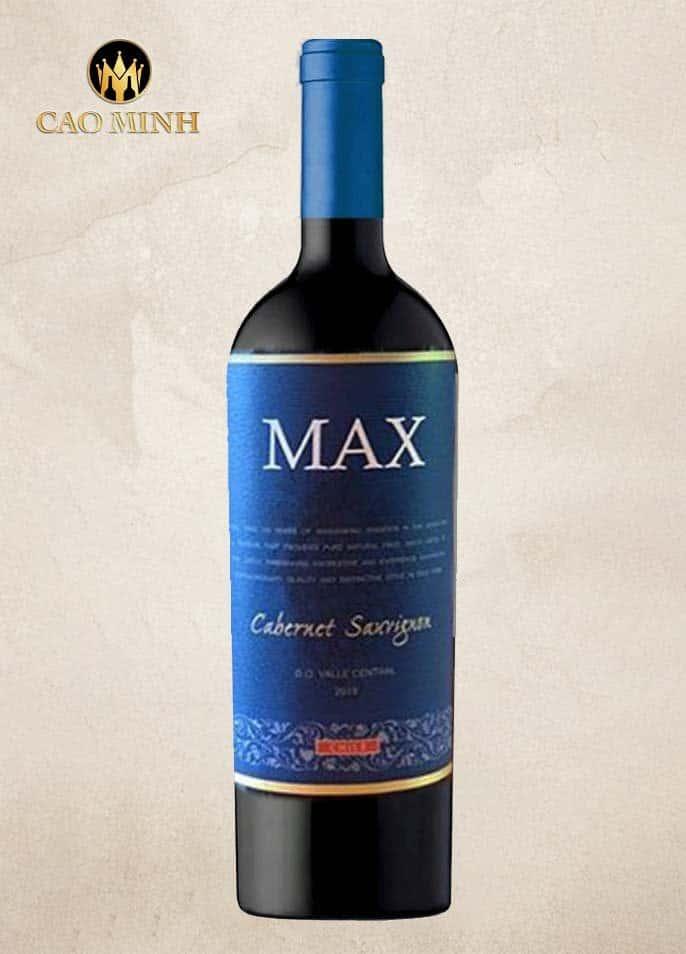 Rượu vang Max Cabernet Sauvignon