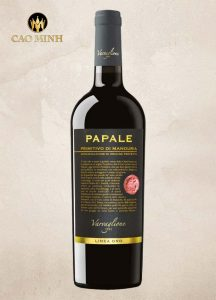 Rượu vang Papale Primitivo Nhập khẩu Ý