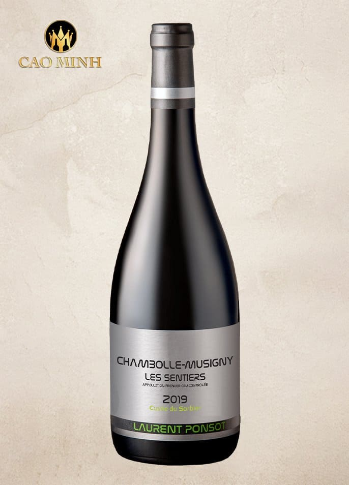 RƯỢU VANG PHÁP LAURENT PONSOT CHAMBOLLE MUSIGNY LES SENTIERS