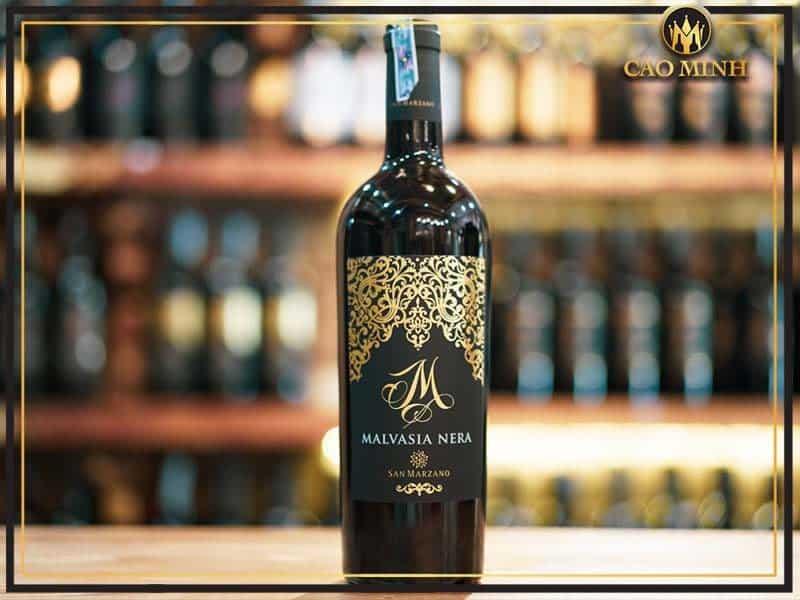 Rượu vang Ý M Malvasia San Marzano - Chai rượu vang thượng hạng không thể bỏ qua dành cho các fan vang Ý