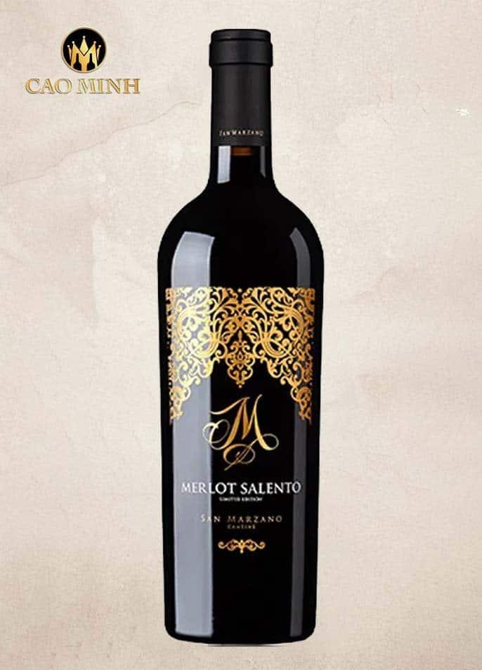 Rượu Vang M Malvasia Nera Cantine San Marzano